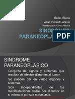 paraneoplasicosele