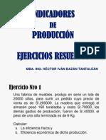 3 Ejercicios Resueltos Indicadores de Produccion Ampliado