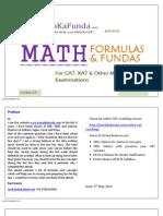 Handa Ka Funda - Math Formulas 5.0
