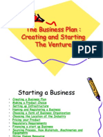 Business Plan Session-I