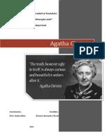 Atestat engleza- Agatha Christie