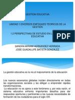 Clase Unidad 1 Gestion Educativa