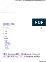 Spss Statistics v22!0!0 Multilen Intercamsvirtuales