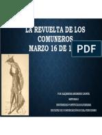 Unidad 2 La Revuelta de Los Comuneros - Alejandra Arizmendi Zapata
