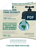 Water Health FoodSecurity