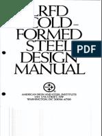 125838743 LRFD Cold Formed Steel Manual PDF