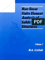 132232130 Non Linear Finite Element Analysis of Solids and Structures Vol 1 M a Crisfield
