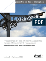 The 19th DMI International Design Management Research Conference