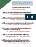 7 Pecados Da Crase