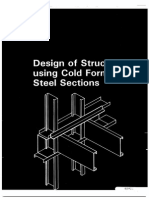 217607301 106 Design of Structures Using Cold Formed Steel Sections PDF