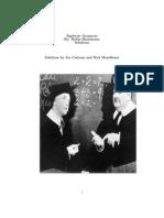 Hartshorne Algebraic Geometry Solutions