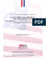 NIST 800-146 Cloud Computing Synopsis