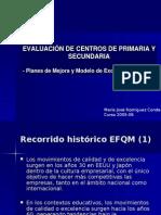 Autoevaluacion Centros EFQM 2006 Resumen