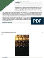 Tutorial - High Dynamic Range Imaging — OpenCV 3