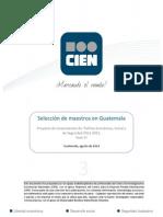 Selección de maestros en Guatemala