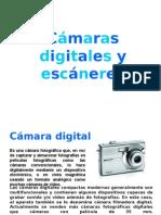 Cámaras digitales y escáneres.