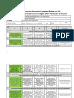 Matriz de Valoracion PID y Planificador de Proyectos Maria Del Pilar Garcia Ramírez