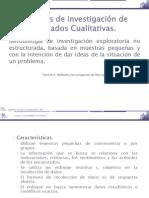 Tecnicas de Investigacion de Mercados Cualitativas