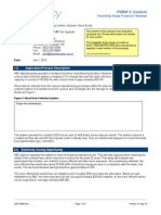 Feasibility Study Proposal Template
