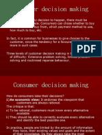 Consumer Decision Making[1]
