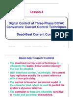 dead beat control