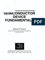 SEMICONDUCTOR DEVICE FUNDAMENTALS