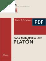 Sztajnszrajber Dario G - Para Animarse a Leer a Platon