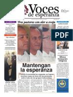 Voces de Esperanza 31 de agosto de 2014