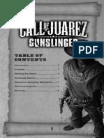 Gunslinger Manual English