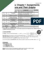 precaclus - a -  chap 1 assignment sheet 2014