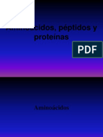 3 Aminoácidos y Proteínas