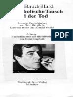 08 Baudrillard, Jean - Der Symbolische Tausch - Drei Ordnungen (SEM)