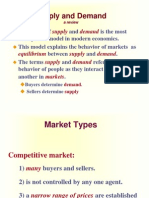 Week 2 Supply and Demand Review