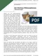 Bzw-weiterdenken Dorothee Markert Neue Bücher Der Diotima-Philosophinnen Keine Übersetzungen