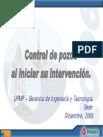 CONTROL DE POZOS AL INICIAR SU INTERVENCION.pdf