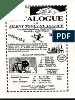 Catalogue of Silent Tools of Justice - Maynard C. Campbell (Original)