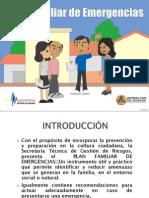 Plan Familiar de Emergencias