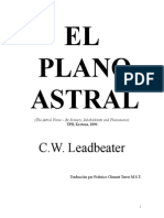 Leadbeater. CW - El Plano Astral
