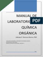 Manual de laboratorio Quimica Organica_2014.pdf