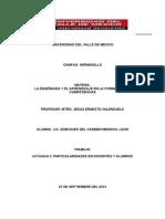 Tarea Maestria 1 de Septiembre de 2013 (Unidad 2)