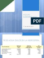 Aguas Subterrneas- Hidrogeologia