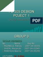 Pd 305 Design Poject 1