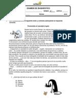 Examen de Diagnóstico 6to