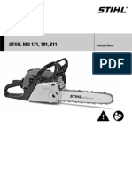 Stihl 211 Chainsaw Manual