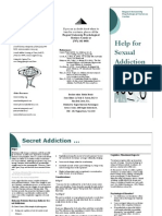 Sex Addiction Brochure