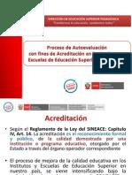 1 Proceso Autoevaluación Fines Acreditación