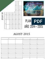 Planificador Anual 2014 - 2015