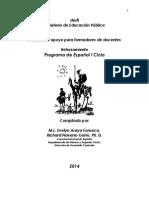 Antología Del Reforzamiento de I Ciclo