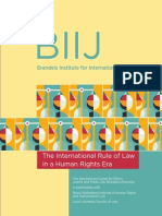 The International Rule of Law in a Human Rights Era
