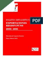 Boletín Estadístico c.e. 2011